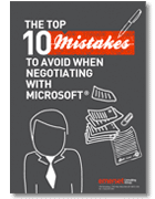 , 10mistakes, Licensing position report, Microsoft Licensing exposure, Microsoft Licensing statement